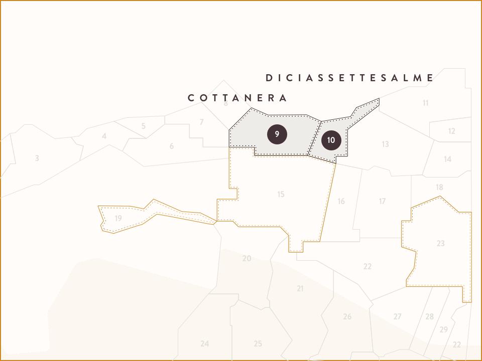Mappa Cottanera e Diciassettesalme