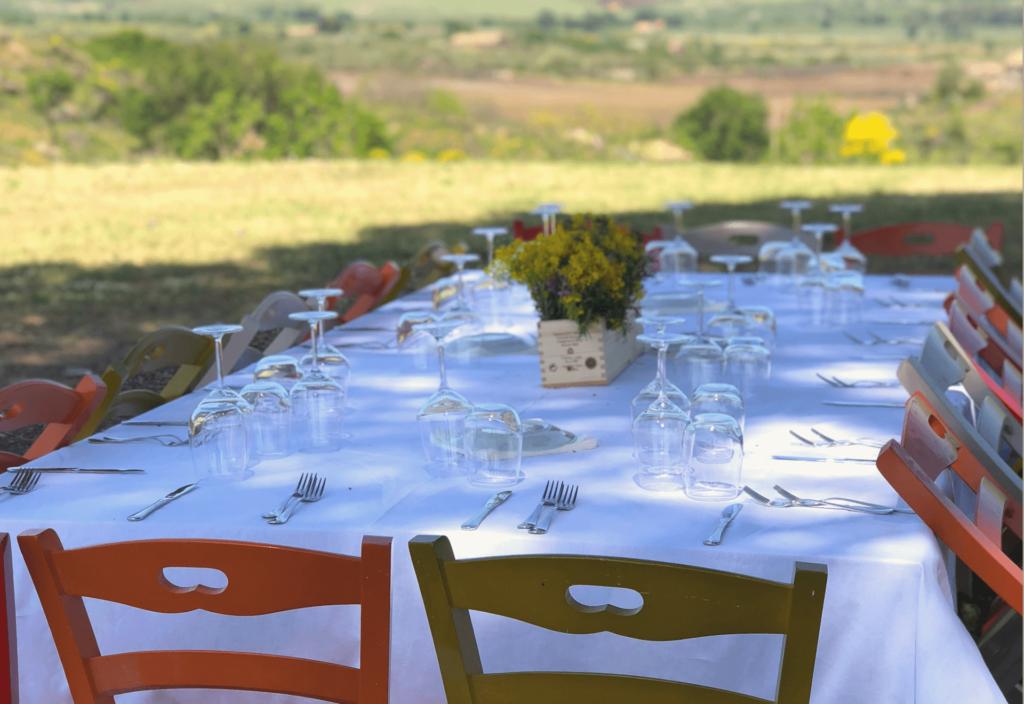 Pranzo - Cena in Vigna
