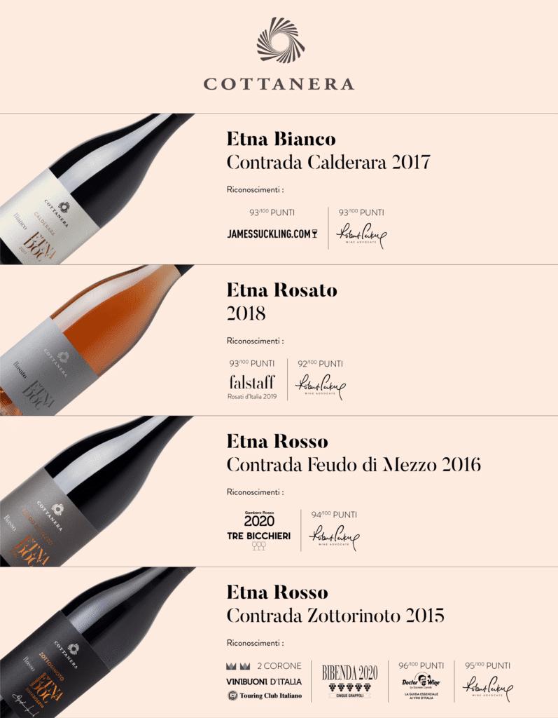 Premio vini Cottanera 2019